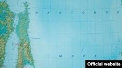 Ресейдің Қиыр Шығыс аймағының картасы. Көрнекі сурет.