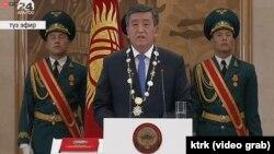 Новиот претседател на Киргистан Соронбај Џинбеков