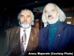 Уладзімер Басалыга і Аляксей Марачкін