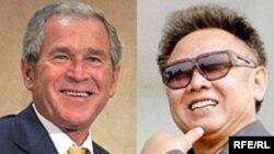 بوش پیشتر کره شمالی را جزئی از محور شرارت دانسته بود.