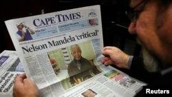 Вазъи сиҳати Мандела ҳамаро нигарон кардааст