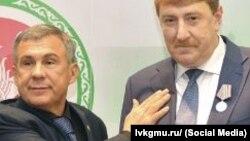 Рөстәм Миңнеханов һәм Андрей Кондратьев
