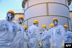 "Делегация МАГАТЭ на АЭС ""Фукусима"". Ноябрь 2013 года"