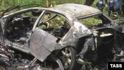 Автомобиль президента Ингушетии после покушения