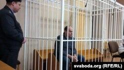 Арцём Бародзіч у залі суду