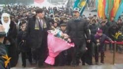 В Алматы вспомнили Декабрьские события