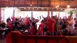 Еуфорија за настапот на македонските фудбалери на ЕП