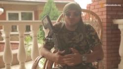 «Я закаханы ва Ўкраіну». Расеец ў АТО, які ваюе на баку ўкраінскіх сілаў