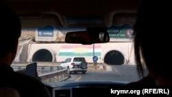Дорога к границе с Сирией