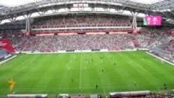 Казан-Аренада беренче футбол матчы узды