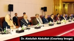 The talks are taking place in Doha.