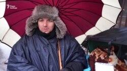 Голодовка защитников животных в Москве