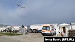Ambulanțele au preluat pacienții bolnavi de Covid și i-au transportat în Iași