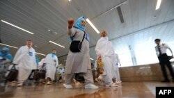 Паломники в аэропорту Джидды. Иллюстративное фото.