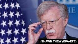 Këshilltari amerikan për Siguri Kombëtare, John Bolton.
