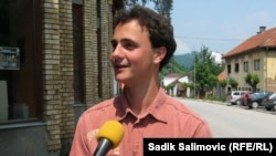 Stefan Milić, član Omladinskog savjeta iz Milića, nosilac priznanja 'Evropski mladi aktivista', Srebrenica, 08. jun 2011.