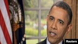 АҚШ президенті Барак Обама. АҚШ, 9 мaмыр 2012 жыл. (Көрнекі сурет)