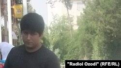 Tajikistan -- Muhammad Tillozoda escorted to court, Vadhat city, 22Jun2012