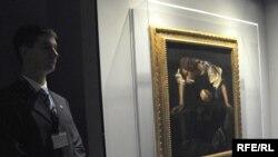 Sa izložbe jednog od najvećih italijanskih umjetnika Michelangela Caravaggia u Podgorici 2010.
