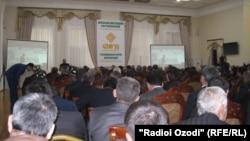 Ҳамоиши иқтисодӣ дар Қароққум. 26 феврали 2016