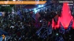 Греки святкують своє рішуче «Ні» за результатами референдуму