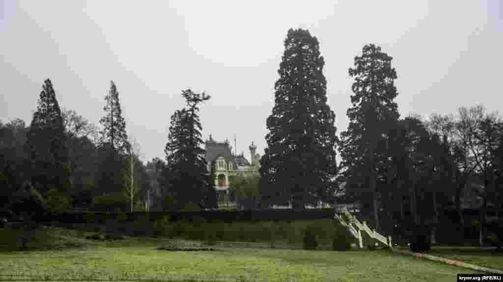Парк в Массандре на месте дубово-грабового леса разбил знаменитый немецкий садовник Карл Кебах в 1822 году. Под его руководством посадили можжевельники, кедры, кипарисы, средиземноморские сосны и фруктовые деревья – фиги, лимоны, апельсины. Сейчас это один из лучших ландшафтных парков Крыма, его площадь – 42 гектара