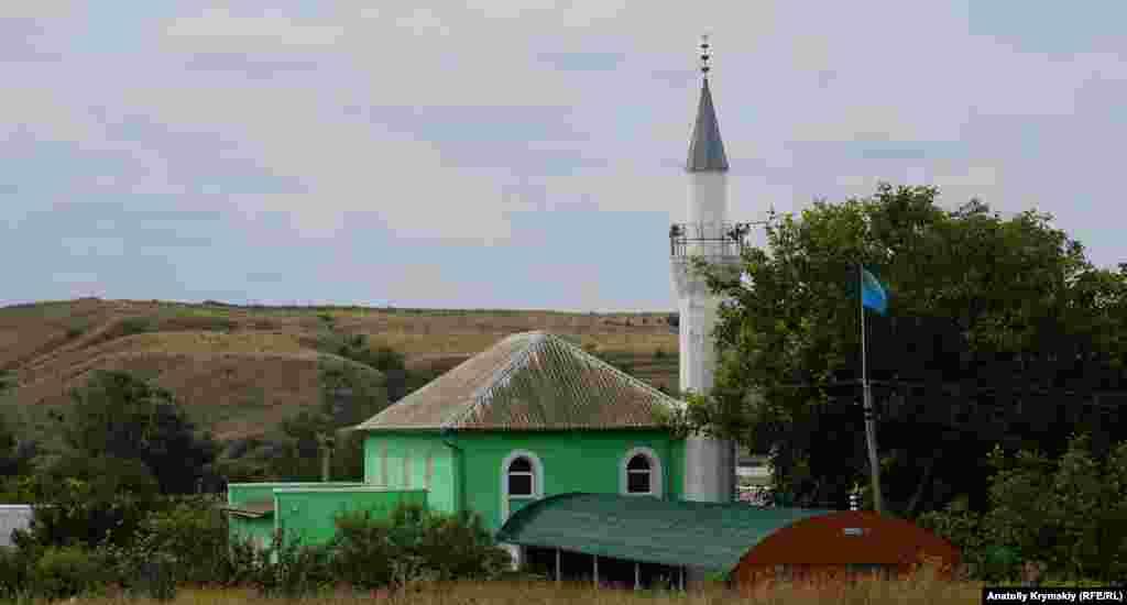 Мечеть Бодрак Джамиси в крымском селе Пожарское, что в западной части Симферопольского района