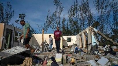 Na području ostrva Abaco koje pripada arhipelagu Bahama gotovo 90 posto infrastrukture je uništeno