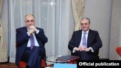 Ադրբեջանի և Հայաստանի արտաքին գործերի նախարարները, արխիվ