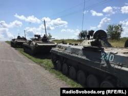 Сепаратисти у Грабовому, Донеччина, 16 липня 2015 року