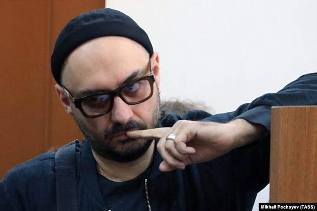 Кирилл Серебренников в зале суда. Май 2018 года