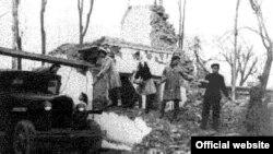 Aşgabatdaky ýer yranmadan soň. 1948 ý.