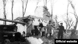 1948-nji ýylyň 6-njy oktýabryndaky ýer titremeden soň.