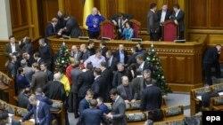 Блокування Верховної Ради 14 січня 2014
