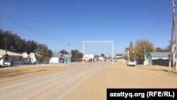 В сельском округе в Актюбинской области.
