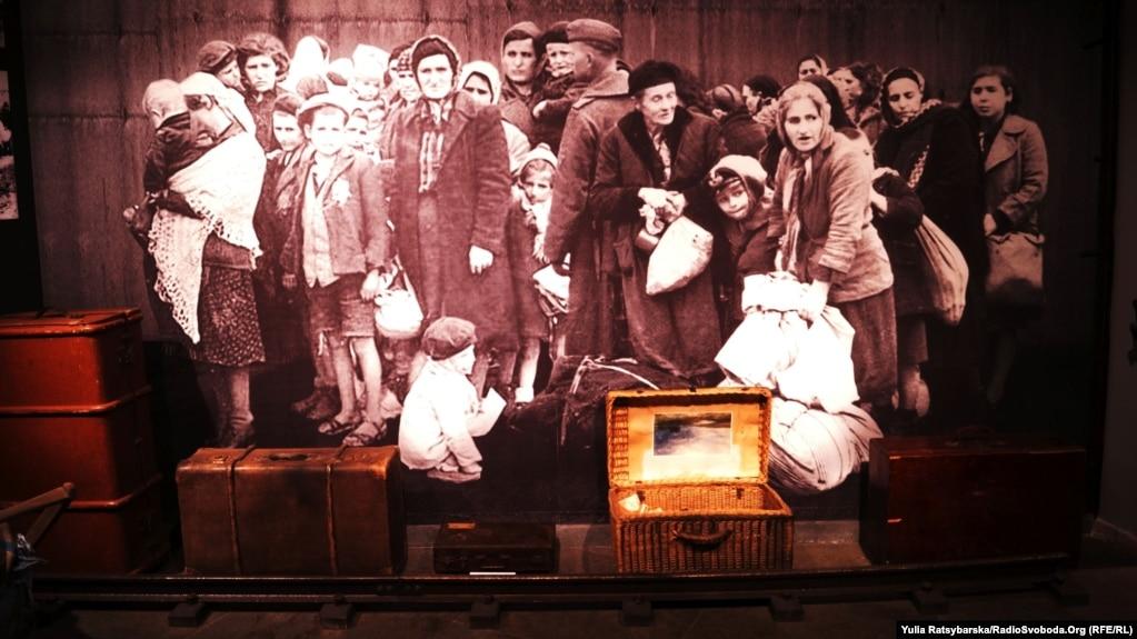 Mузей «Пам'ять єврейського народу та Голокост в Україні» в місті Дніпрі, 27 січня 2019 року