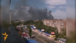 Clashes Continue In Donetsk Despite Cease-Fire