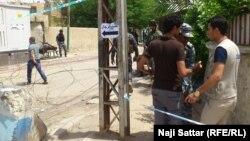 نقطة تفتيش في بغداد