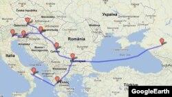 """Проект газопровода """"Южный поток"""" в обход Украины"""