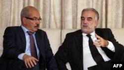 Министр юстиции переходного правительства Ливии принимает Луиса Морено-Окампо