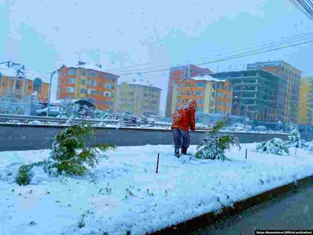 В Бишкеке.