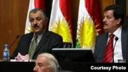 آشتي هورامي في جلسة برلمان كردستان