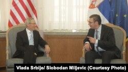 Majkl Kirbi i Aleksandar Vučić, ilustrativna fotografija