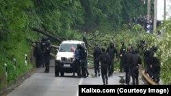 Zyrtari rus i UNMIK-ut Mikhail Krasnoshçekov, që u ndalua të martën gjatë aksionit të Policisë së Kosovës