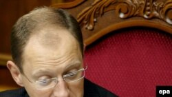 Спикер Верховной Рады шестого созыва Арсений Яценюк
