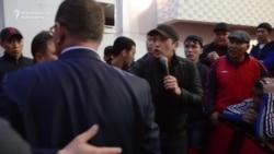 Nazarbaýew protestçilere Ukrainany ýatlatdy
