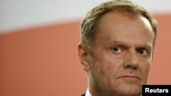 Председатель Европейского совета Дональд Туск.