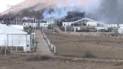 Kamp 'Lipa' u plamenu
