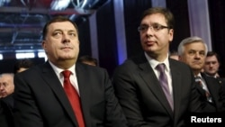 Milorad Dodik i Aleksandar Vučić, Banjaluka