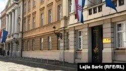 Zgrada Sabora, Zagreb